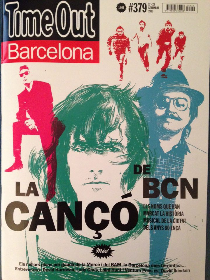 Time Out Barcelona cover