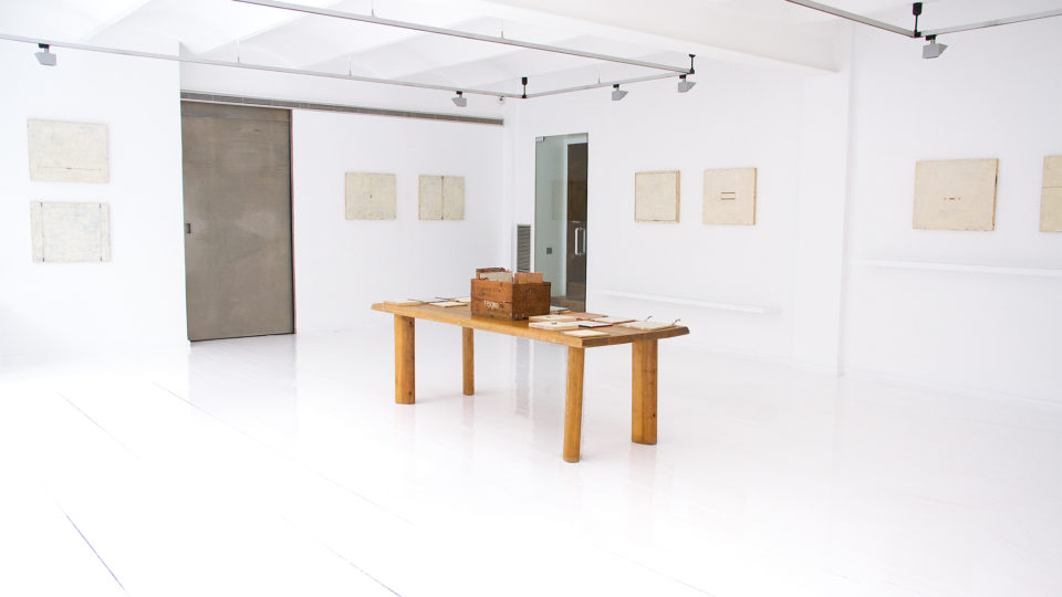 Matías Krahn Exhibition June 2017 at Galeria Miquel Alzueta