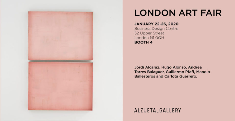 London Art Fair 2020 Alzueta Gallery