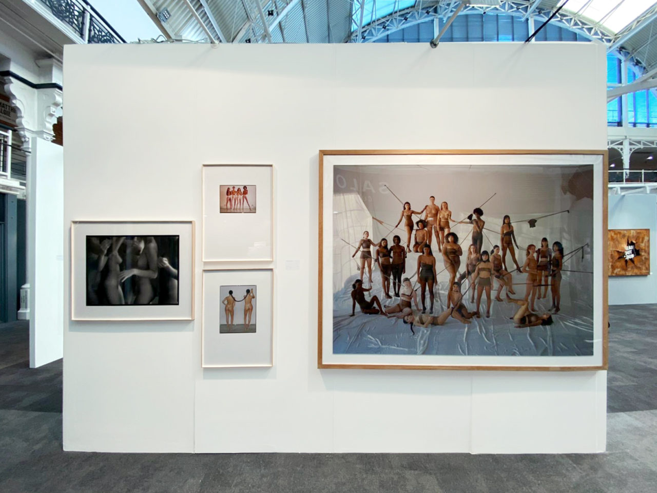 Carlota Guerrero at Alzueta Gallery at London Art Fair Booth
