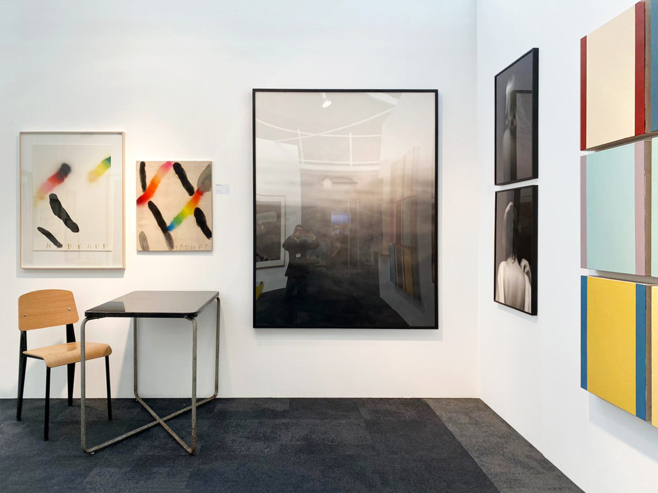 Alzueta Gallery at London Art Fair Booth