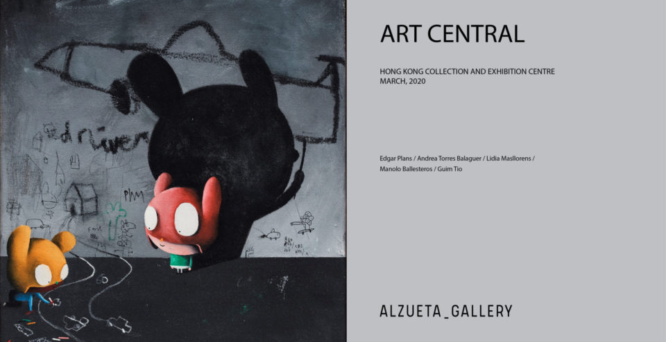 Alzueta Gallery at Art Central 2020