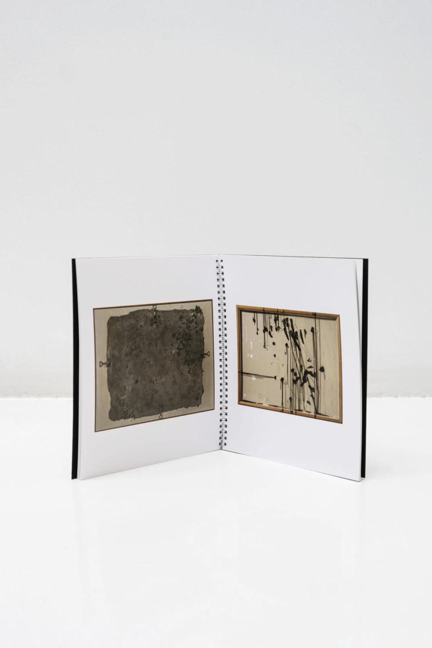 Jordi Alcaraz and Antoni Tapies catalog