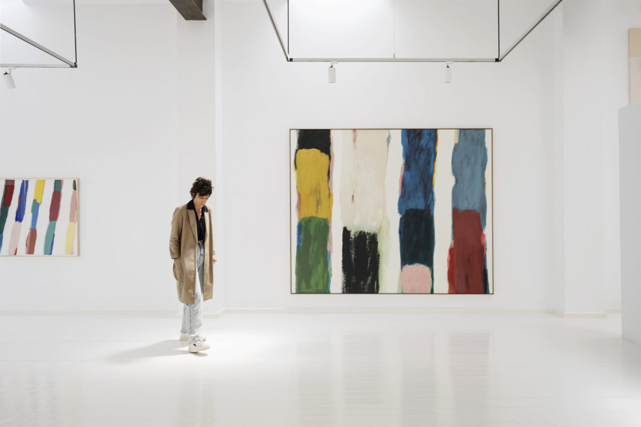 Claudia Valsells at the gallery