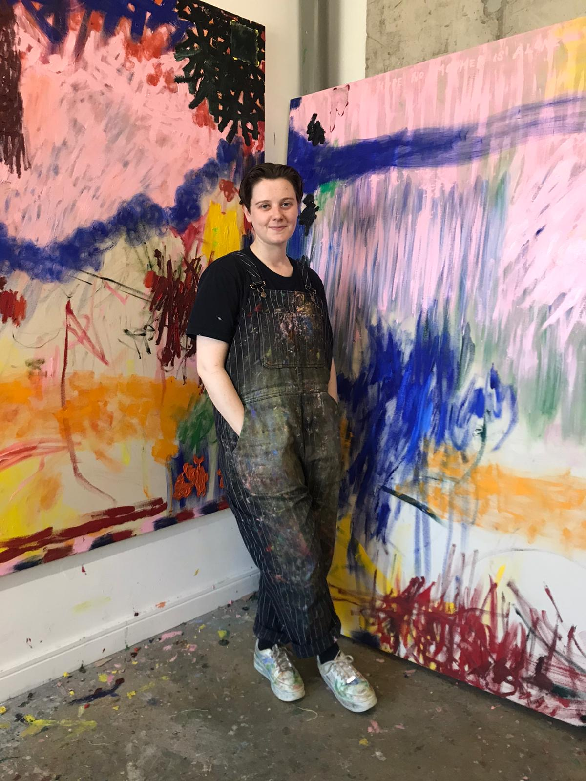 Daisy Parris at her studio