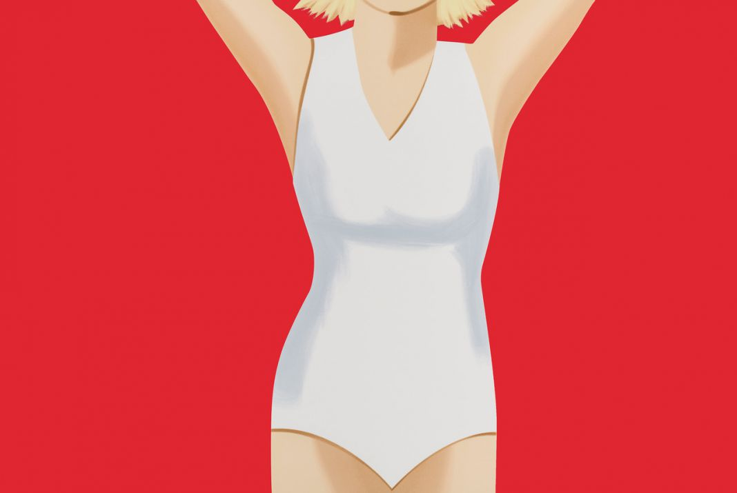 Coca Cola Girl #2. Alex Katz