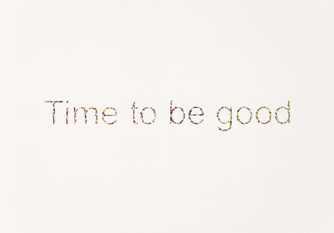 Time to be good. Bárbara Alegre