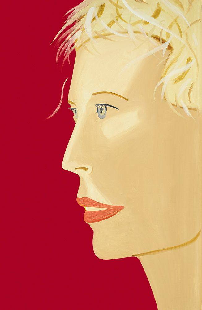 Coca Cola Girl. Alex Katz