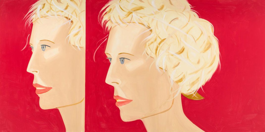 Cocal Cola Girl #25. Alex Katz