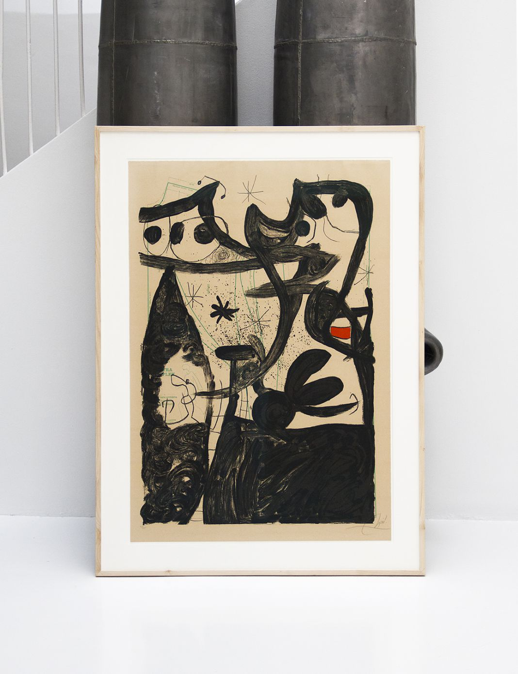 Mannequin parade at the North Pole. Joan Miró. Signed,49/75.