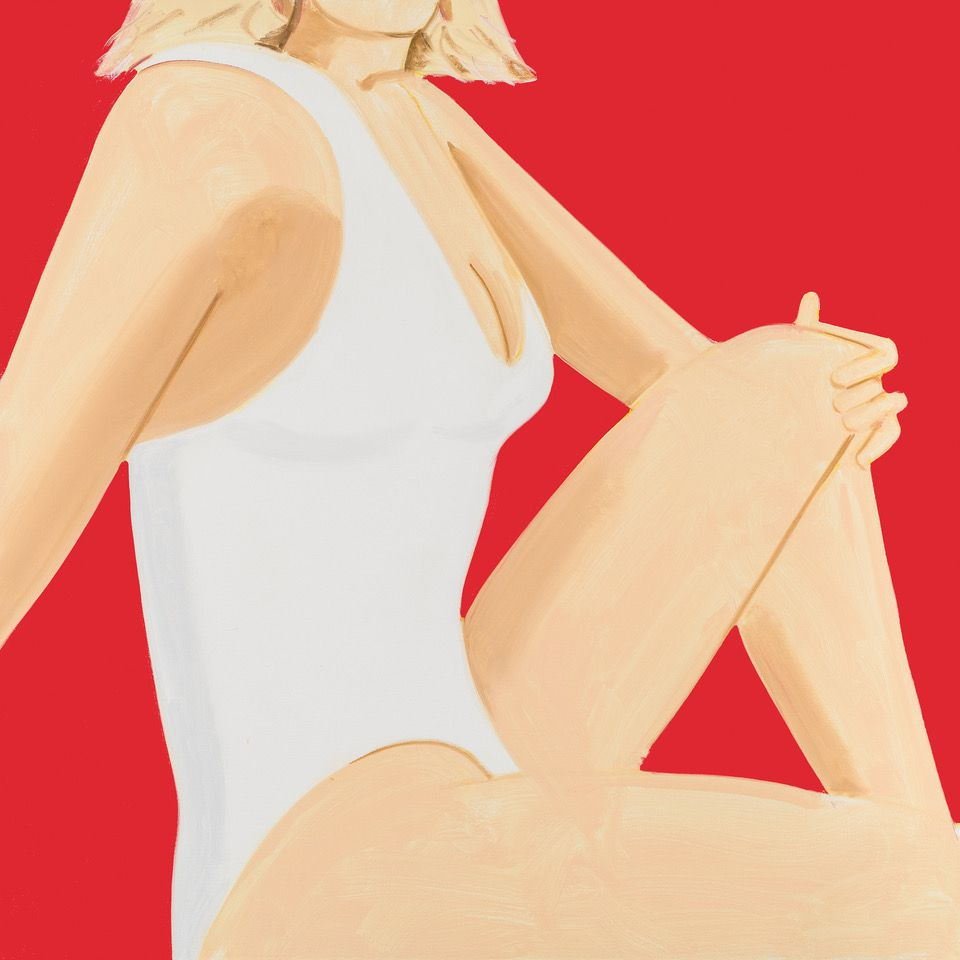 Coca Cola Girl #7. Alex Katz