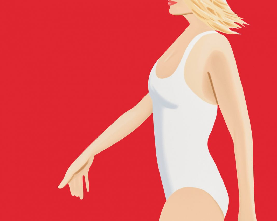 Coca Cola Girl #1. Alex Katz